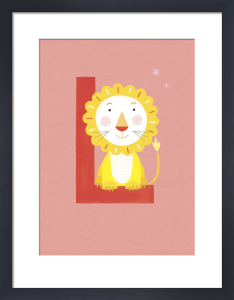 L is for Lion by Sugar Snap Studio