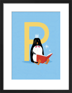 P is for Penguin by Sugar Snap Studio