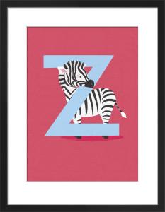 Z is for Zebra by Sugar Snap Studio