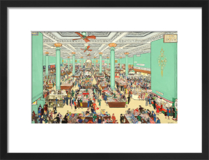 The British Scene - Department store scene, 1939-1946 by Grace Lydia Golden