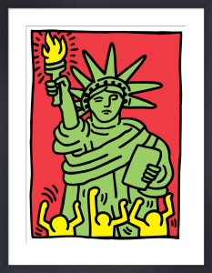 Statue of Liberty, 1986 by Keith Haring