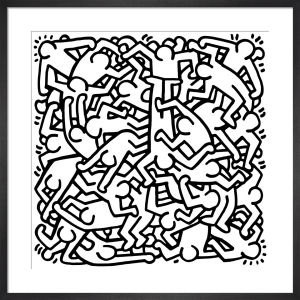 Party of Life Invitation, 1986 by Keith Haring