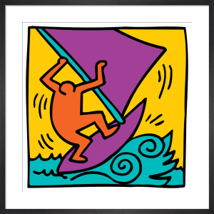 Untitled (boat) by Keith Haring
