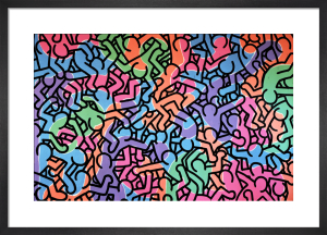 Untitled, 1985 (figures) by Keith Haring