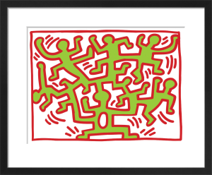 Growing, 1988 by Keith Haring