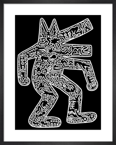 Dog, 1985 by Keith Haring