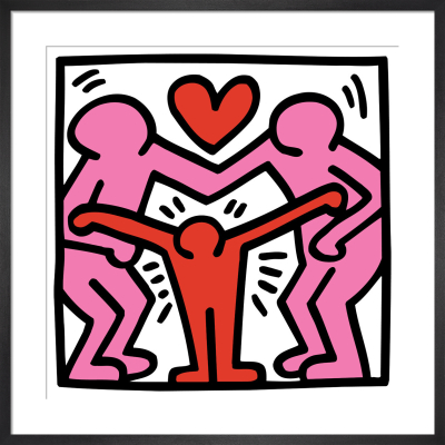 Untitled (family) by Keith Haring