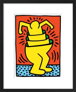 Untitled (cup man), 1989 by Keith Haring