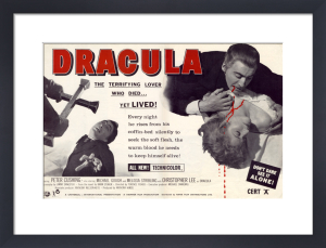 Dracula - Trade Advert by Hammer