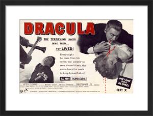 Dracula - Trade Advert by Hammer