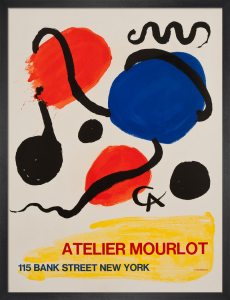 Atelier Mourlot, Bank Street, New York, 1967 by Alexander Calder