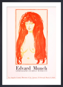 Lithographs-Etchings-Woodcuts by Edvard Munch