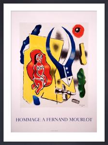 Hommage a Fernand Mourlot by Fernand Leger