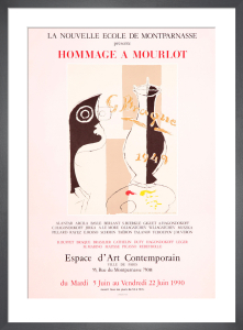 Hommage A Mourlot by Georges Braque