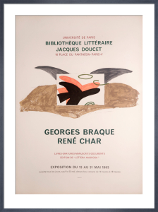 Bibliotheque Litteraire Jacques Doucet by Georges Braque