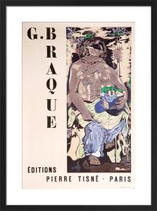 Editions Pierre Tisné - Paris, 1953 by Georges Braque
