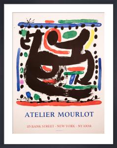 Atelier Mourlot, Bank Street, New York by Joan Miro