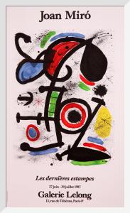 Les Dernieres Estampes by Joan Miro