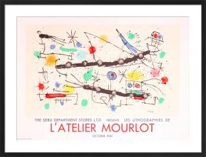 L'Atelier Mourlot, 1984 by Joan Miro