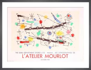 L'Atelier Mourlot by Joan Miro