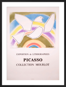 The Rainbow Dove, 1988 by Pablo Picasso