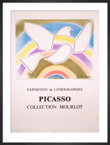 The Rainbow Dove by Pablo Picasso