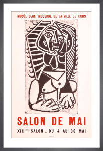Salon de Mai by Pablo Picasso