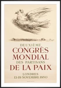Deuxieme Congres Mondial des Partisans de la Paix by Pablo Picasso