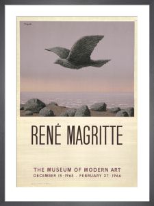 The Museum of Modern Art by Rene Magritte