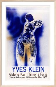 Galerie Karl Flinker a Paris by Yves Klein
