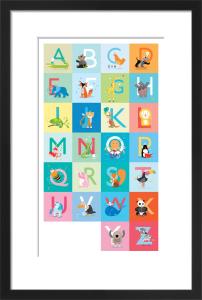 Alphabet A-Z by Sugar Snap Studio