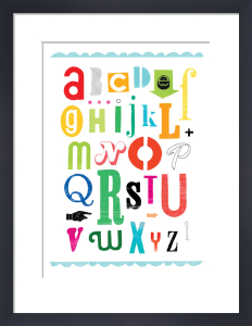 Alphabet by Sugar Snap Studio
