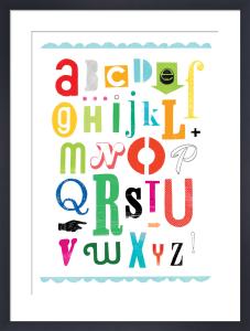 Alphabet by Sugar Snap Studio