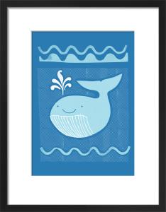 Blue Whale by Sugar Snap Studio