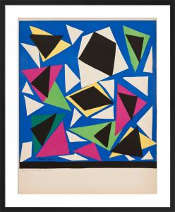 Centennial, Exposition d'Affiches, Papiers Découpés, 1952 (before lettering) by Henri Matisse