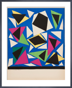 Centenial, Exposition d'Affiches, Papiers Decoupes (before lettering) by Henri Matisse