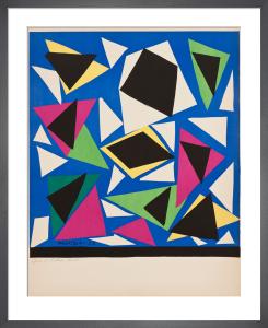 Centenial, Exposition d'Affiches, Papiers Decoupes (before lettering) by Henri Matisse