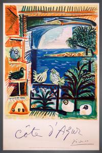 Cote d'Azur, 1962 by Pablo Picasso