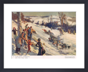 Sledge Race, 1935 by Anonymous