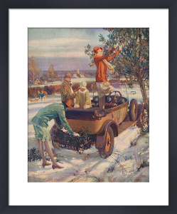 The Sphere, Christmas 1929 by Millar Watt