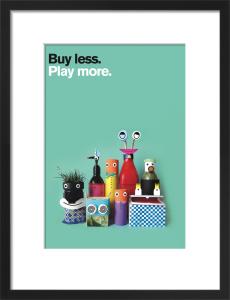 Buy Less, Play More by Constanza Gaggero