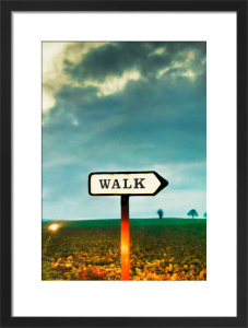Walk This Way by Vaughan Oliver