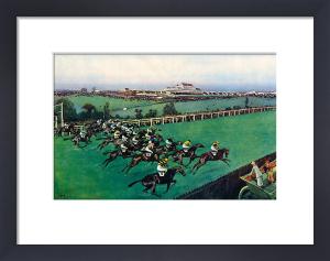 The 1923 Derby, 1926 by Cecil Aldin