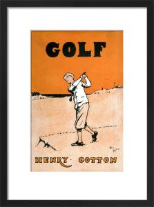 Golf, 1931 by Cecil Aldin