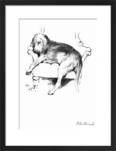 Bloodhound, 1939 by Cecil Aldin