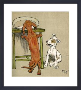 Merry and Bright, 1911 by Cecil Aldin