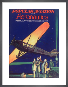 Popular Aviation and Aeronautics, February 1929 by Royal Aeronautical Society