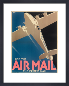 Air Mail Poster, 1933 by Royal Aeronautical Society