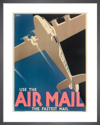 Air Mail Poster, 1933 by Royal Aeronautical Society