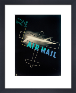 Air Mail Poster, 1934 by Royal Aeronautical Society